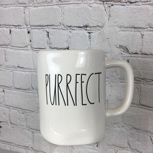 "Rae Dunn ""PURRFECT"" coffee mug"